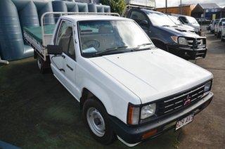 1988 Mitsubishi Triton DX White 5 Speed Manual Utility.