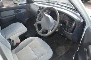 1997 Mitsubishi Triton MK GL White 5 Speed Manual Cab Chassis