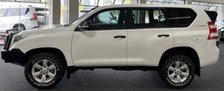 2015 Toyota Landcruiser Prado KDJ150R MY14 GX White 6 Speed Manual Wagon