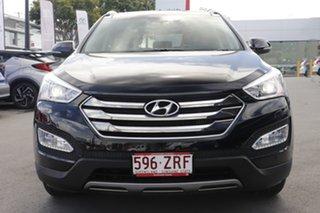 2014 Hyundai Santa Fe DM2 MY15 Highlander Black 6 Speed Sports Automatic Wagon.