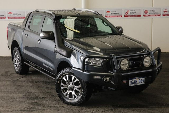 Pre-Owned Ford Ranger PX MkII Wildtrak 3.2 (4x4) Myaree, 2016 Ford Ranger PX MkII Wildtrak 3.2 (4x4) 6 Speed Automatic Dual Cab Pick-up