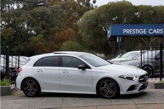2019 Mercedes-Benz A-Class W177 A250 DCT 4MATIC AMG Line White 7 Speed Sports Automatic Dual Clutch.