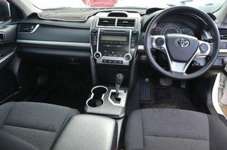 2012 Toyota Camry ACV40R 09 Upgrade Altise White 5 Speed Automatic Sedan