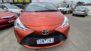 2019 Toyota Yaris NCP131R ZR Orange 4 Speed Automatic Hatchback.
