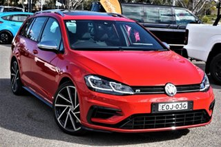 2020 Volkswagen Golf 7.5 MY20 R DSG 4MOTION Red 7 Speed Sports Automatic Dual Clutch Wagon.