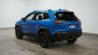 2019 Jeep Cherokee KL MY19 Trailhawk Blue 9 Speed Sports Automatic Wagon.