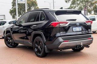2021 Toyota RAV4 Axah54R Cruiser eFour Black 6 Speed Constant Variable Wagon Hybrid.