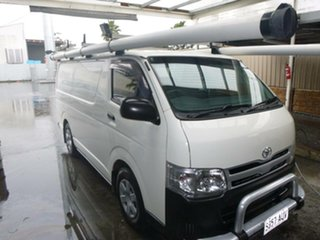 2012 Toyota HiAce KDH201R MY12 LWB 5 Speed Manual Van.