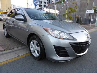 2010 Mazda 3 BL Neo Grey 5 Speed Automatic Hatchback.