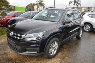 2016 Volkswagen Tiguan 5NC MY16 118 TSI (4x2) Black 6 Speed Direct Shift Wagon.