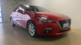 2015 Mazda 3 BM Maxx Red 6 Speed Automatic Hatchback.