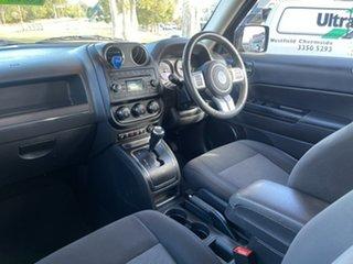 2013 Jeep Patriot MK MY14 Sport 4x2 Black 6 Speed Sports Automatic Wagon