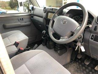 2018 Toyota Landcruiser VDJ76R GXL Grey 5 Speed Manual Wagon