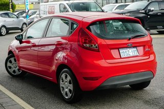 2010 Ford Fiesta WT CL Red 5 Speed Manual Hatchback.