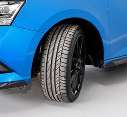 2020 Skoda Fabia NJ MY20.5 81TSI DSG Monte Carlo Blue 7 Speed Sports Automatic Dual Clutch Hatchback
