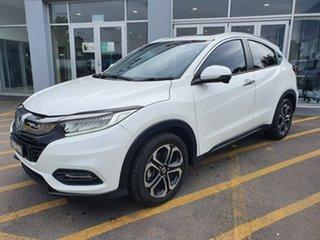 2018 Honda HR-V MY18 VTi-LX White 1 Speed Constant Variable Hatchback.