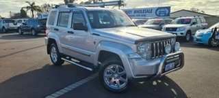 2010 Jeep Cherokee KK MY10 Limited Silver 4 Speed Automatic Wagon.