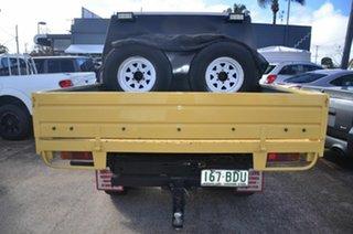 1991 Toyota Landcruiser HZJ75RP (4x4) Yellow 5 Speed Manual 4x4 Cab Chassis