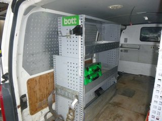 2012 Toyota HiAce KDH201R MY12 LWB 5 Speed Manual Van