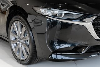 2021 Mazda 3 BP2SLA G25 SKYACTIV-Drive GT Jet Black 6 Speed Sports Automatic Sedan.