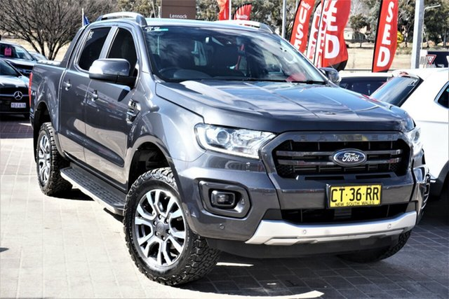 Used Ford Ranger PX MkIII 2019.75MY Wildtrak Phillip, 2019 Ford Ranger PX MkIII 2019.75MY Wildtrak Grey 10 Speed Sports Automatic Double Cab Pick Up