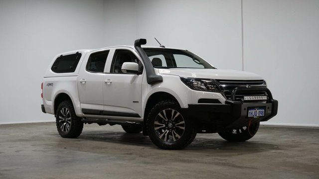 Used Holden Colorado RG MY20 LS Pickup Crew Cab Welshpool, 2019 Holden Colorado RG MY20 LS Pickup Crew Cab White 6 Speed Sports Automatic Utility