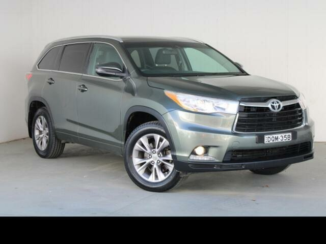 Used Toyota Kluger Fyshwick, 2013 Toyota Kluger Rainforest Green Automatic Wagon