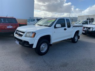 2009 Holden Colorado RC MY09 LX (4x2) White 4 Speed Automatic Space Cab Pickup.