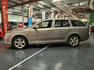 2011 Skoda Octavia 1Z MY11 118TSI DSG Metallic Beige 7 Speed Sports Automatic Dual Clutch Wagon