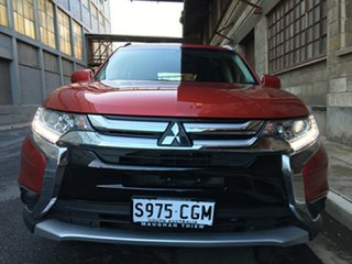 2018 Mitsubishi Outlander ZL MY18.5 ES 2WD Burgundy 6 Speed Constant Variable Wagon.