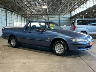 1996 Ford Falcon XH GLi Ute Longreach Blue 4 Speed Automatic Utility.