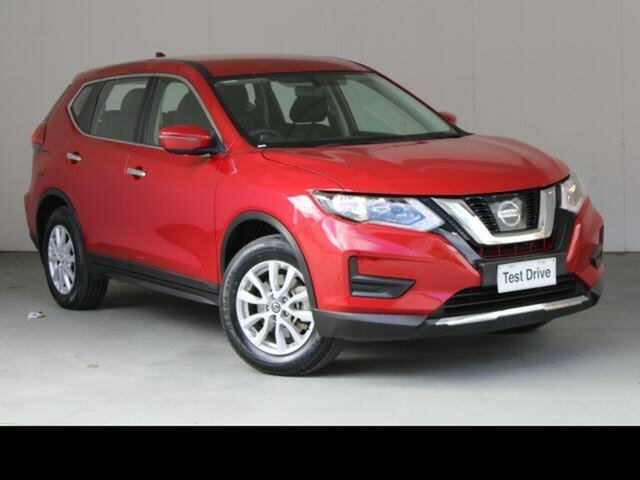 Used Nissan X-Trail T32 Series 2 ST 7 Seat (2WD) Fyshwick, 2018 Nissan X-Trail T32 Series 2 ST 7 Seat (2WD) Red Continuous Variable Wagon