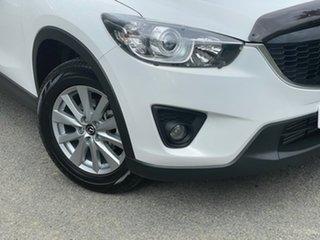 2014 Mazda CX-5 KE1022 Maxx SKYACTIV-Drive AWD Sport White 6 Speed Sports Automatic Wagon.