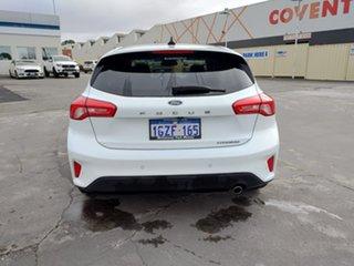 2018 Ford Focus SA 2019MY Titanium Frozen White 8 Speed Automatic Hatchback.