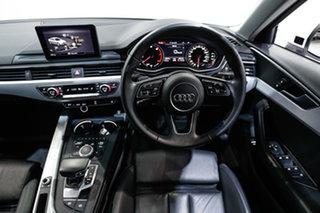 2019 Audi A4 B9 8W MY19 35 TFSI S Tronic S Line White 7 Speed Sports Automatic Dual Clutch Sedan