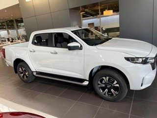 2021 Mazda BT-50 TFR40J XTR 4x2 White 6 Speed Sports Automatic Utility