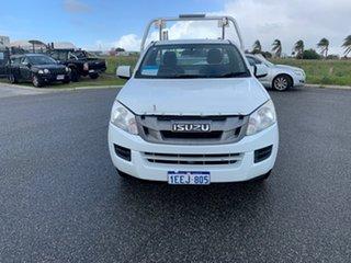 2012 Isuzu D-MAX TF MY12 SX (4x2) White 5 Speed Manual Cab Chassis.