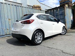 2017 Mazda 2 DJ2HA6 Neo SKYACTIV-MT White Pearl 6 Speed Manual Hatchback.