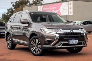 2018 Mitsubishi Outlander ZL MY19 ES 2WD Brown 6 Speed Constant Variable Wagon.
