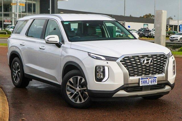 Demo Hyundai Palisade LX2.V1 MY21 AWD Rockingham, 2021 Hyundai Palisade LX2.V1 MY21 AWD White Cream 8 Speed Sports Automatic Wagon