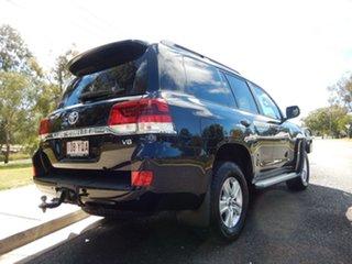 2018 Toyota Landcruiser VDJ200R GXL Eclipse Black 6 Speed Sports Automatic Wagon.