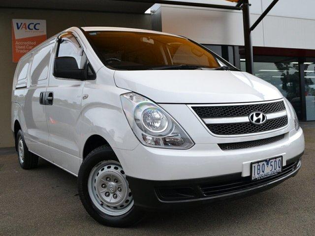 Used Hyundai iLOAD TQ-V MY14 Fawkner, 2014 Hyundai iLOAD TQ-V MY14 White 5 Speed Manual Van