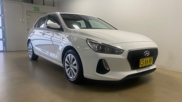Used Hyundai i30 PD Update Go Phillip, 2018 Hyundai i30 PD Update Go White 6 Speed Auto Sequential Hatchback