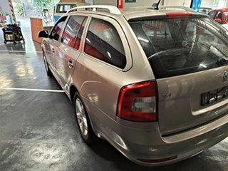 2011 Skoda Octavia 1Z MY11 118TSI DSG Metallic Beige 7 Speed Sports Automatic Dual Clutch Wagon.