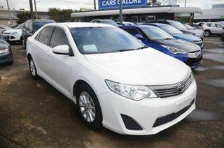 2012 Toyota Camry ACV40R 09 Upgrade Altise White 5 Speed Automatic Sedan.