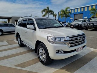 2017 Toyota Landcruiser VDJ200R MY17 LC200 Altitude Special Edition Crystal Pearl 6 Speed Automatic.