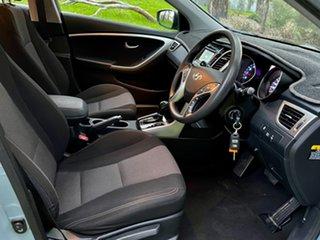 2013 Hyundai i30 GD2 Active Stone Blue/charcoal 6 Speed Sports Automatic Hatchback