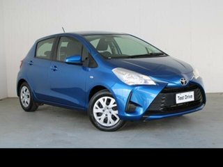 2017 Toyota Yaris NCP130R MY17 Ascent Tidal Blue 4 Speed Automatic Hatchback
