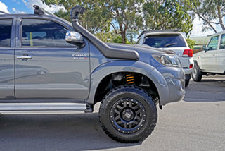 2012 Toyota Hilux KUN26R MY12 SR5 Double Cab Galactic Grey 4 Speed Automatic Utility