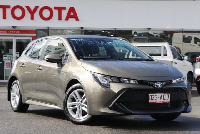 Pre-Owned Toyota Corolla ZWE211R Ascent Sport E-CVT Hybrid Upper Mount Gravatt, 2020 Toyota Corolla ZWE211R Ascent Sport E-CVT Hybrid Oxide Bronze 10 Speed Constant Variable